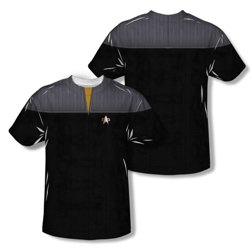 Image Closeup for Star Trek Sublimated Youth T-Shirt - TNG Movie Engineering Uniform