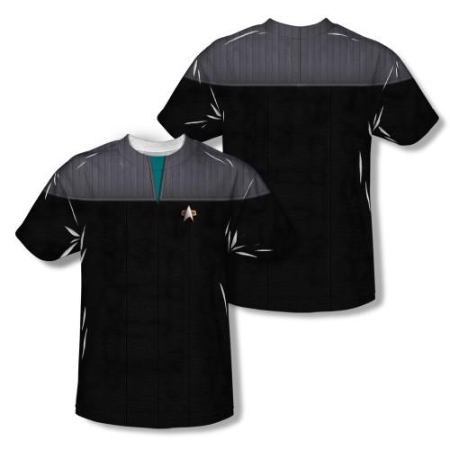 Image Closeup for Star Trek Sublimated T-Shirt - TNG Movie Science Uniform