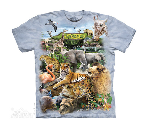 Image for The Mountain Youth T-Shirt - Zoo Puzzle