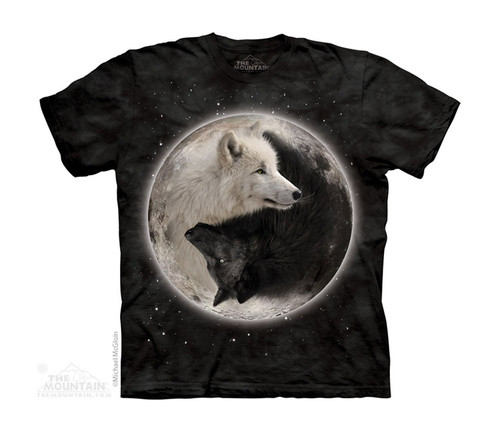 Image for The Mountain Youth T-Shirt - Yin Yang Wolves