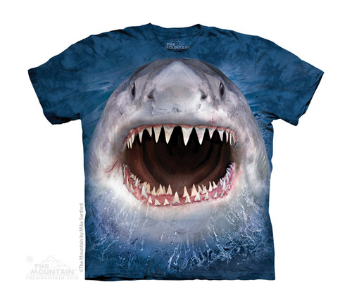 Image for The Mountain Youth T-Shirt - Wicked Nasty Shark