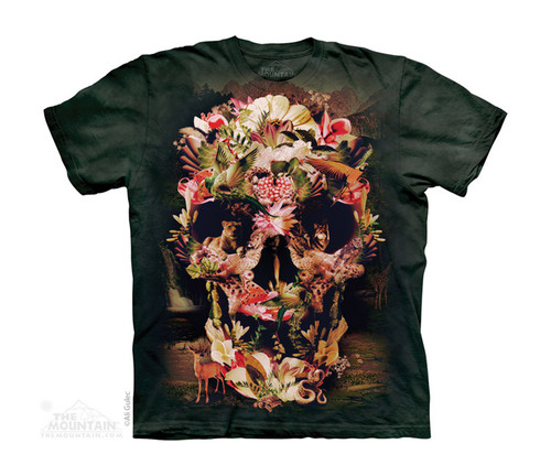 Image for The Mountain Youth T-Shirt - Jungle Skull