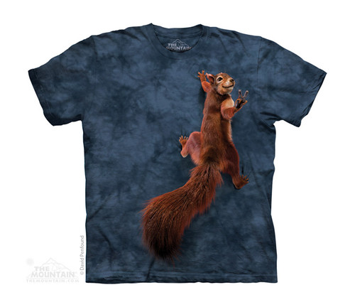 Image for The Mountain Youth T-Shirt - Peace Squirrel