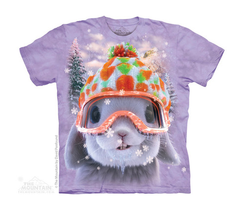 Image for The Mountain Youth T-Shirt - Snow Bunny