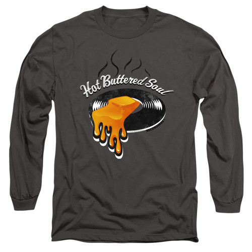Image for Isaac Hayes Long Sleeve Shirt - Hot Butter Soul Logo