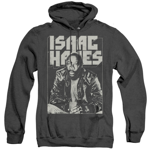 Image for Isaac Hayes Heather Hoodie - Lean In