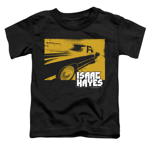 Image for Isaac Hayes Toddler T-Shirt - Gold Cadillac