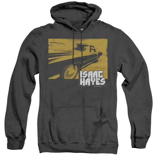 Image for Isaac Hayes Heather Hoodie - Gold Cadillac