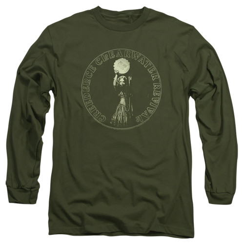 Image for Creedence Clearwater Revival Long Sleeve T-Shirt - Mardi Gras
