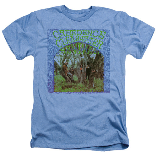 Image for Creedence Clearwater Revival Heather T-Shirt - Self Titled