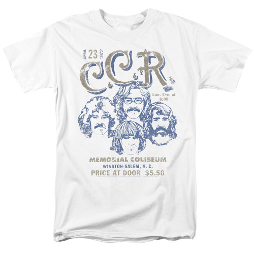 Image for Creedence Clearwater Revival T-Shirt - Sketch Poster