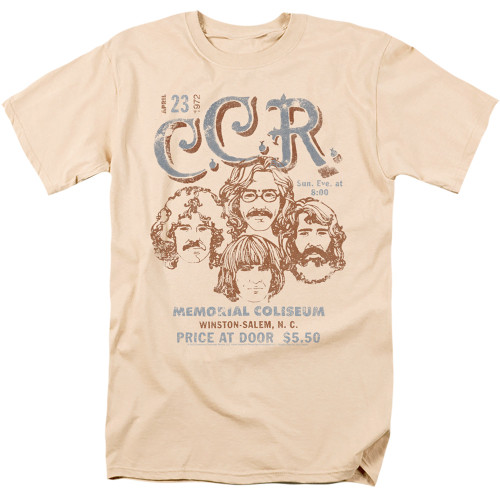 Image for Creedence Clearwater Revival T-Shirt - Sketch
