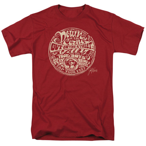 Image for Creedence Clearwater Revival T-Shirt - Down on the Corner