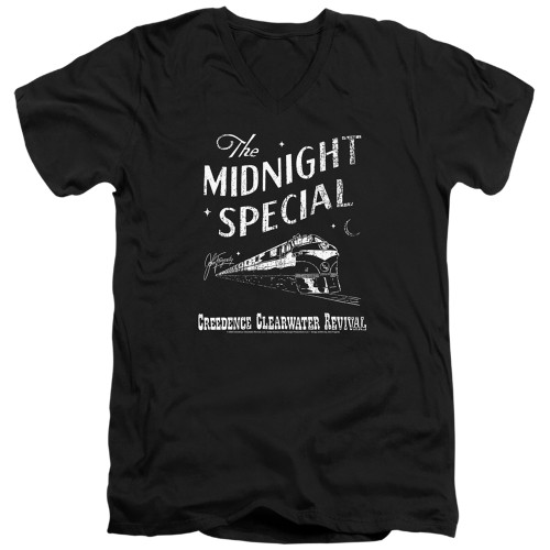 Image for Creedence Clearwater Revival V Neck T-Shirt - The Midnight Special