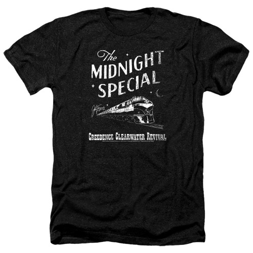 Image for Creedence Clearwater Revival Heather T-Shirt - The Midnight Special