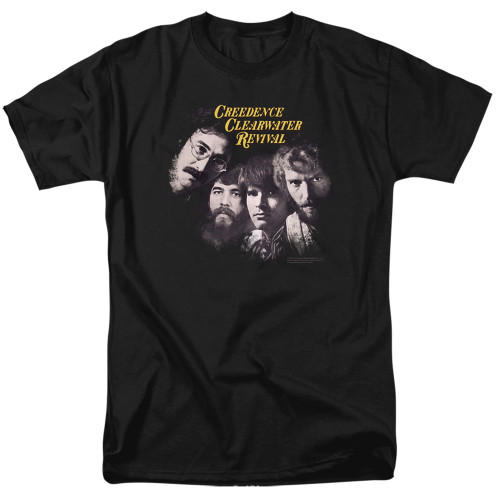 Image for Creedence Clearwater Revival T-Shirt - Pendulum Faces