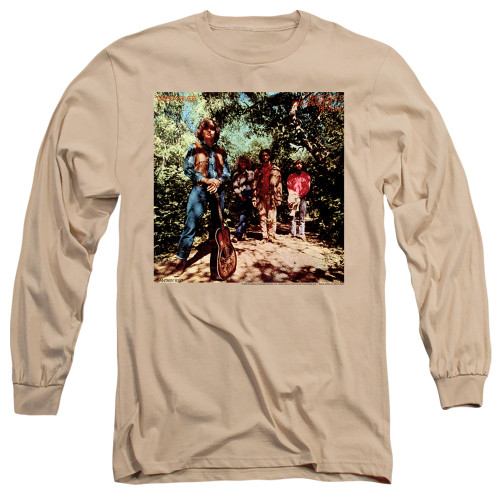 Image for Creedence Clearwater Revival Long Sleeve T-Shirt - Green River Album