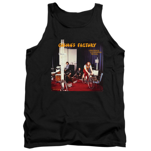 Image for Creedence Clearwater Revival Tank Top - Cosmos Factory Ablum
