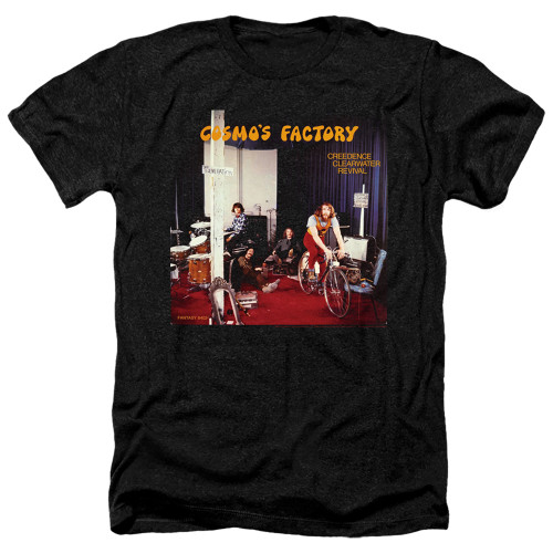 Image for Creedence Clearwater Revival Heather T-Shirt - Cosmos Factory Ablum