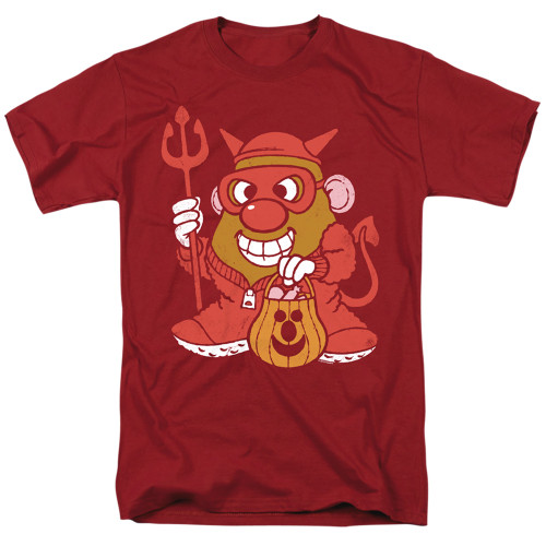 Image for Mr. Potato Head T-Shirt - Deviled Spud