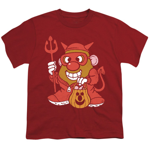 Image for Mr. Potato Head Youth T-Shirt - Deviled Spud