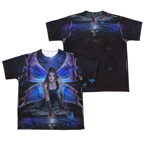 Image Closeup for Anne Stokes Sublimated Youth T-Shirt - Immortal Flight