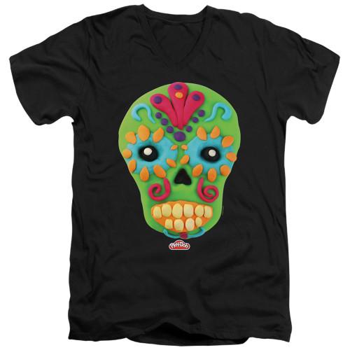 Image for Play Doh T-Shirt - V Neck - Sugar Skull