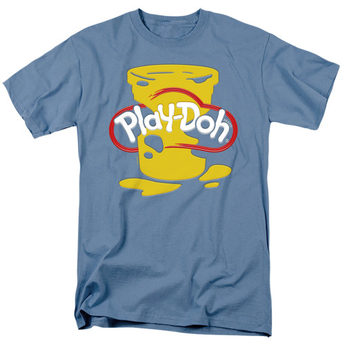 Image for Play Doh T-Shirt - Messy Stencil Logo