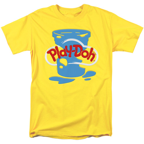 Image for Play Doh T-Shirt - Inverted Messy Logo