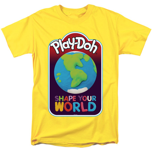 Image for Play Doh T-Shirt - Shape Your World