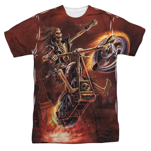 Image for Anne Stokes Sublimated T-Shirt - Hellrider 100% Polyester