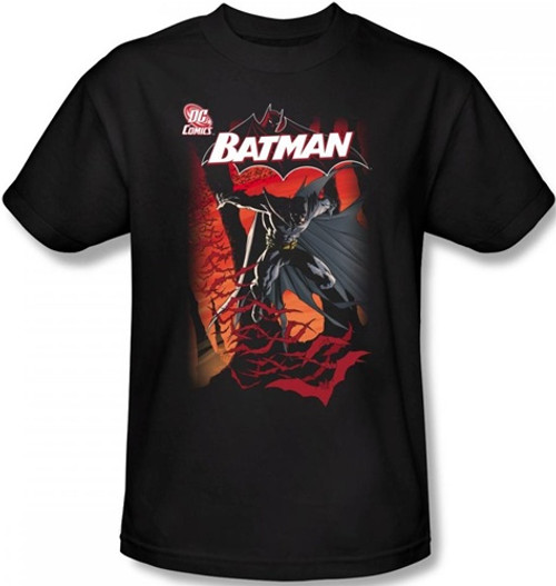 Image Closeup for Batman T-Shirt - #655 Cover