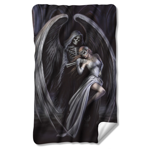 Image for Anne Stokes Fleece Blanket - Dance with Death