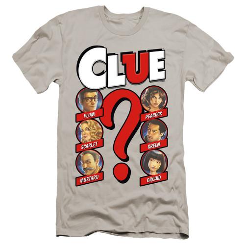 Image for Clue Premium Canvas Premium Shirt - Modern Whodunnit