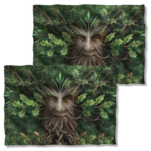 Image Closeup for Anne Stokes Pillow Case - Oak King