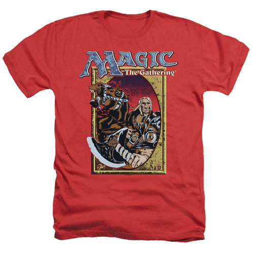 Image for Magic the Gathering Heather T-Shirt - Fifth Edition Deck Art