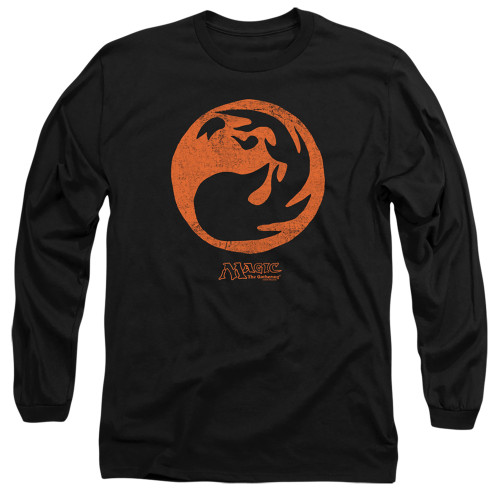 Image for Magic the Gathering Long Sleeve T-Shirt - Red Symbol