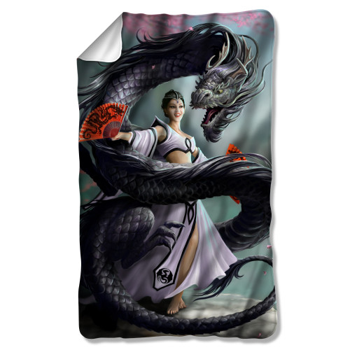 Image for Anne Stokes Fleece Blanket - Dragon Dancer