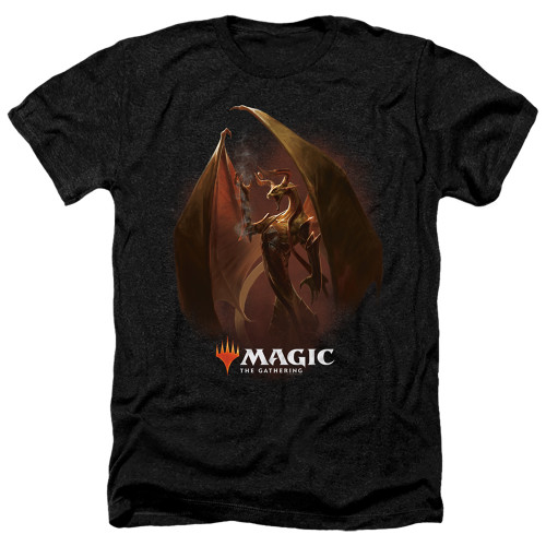 Image for Magic the Gathering Heather T-Shirt - Nicol Bolas