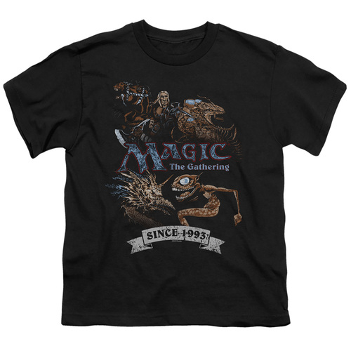 Image for Magic the Gathering Youth T-Shirt - Four Pack Retro