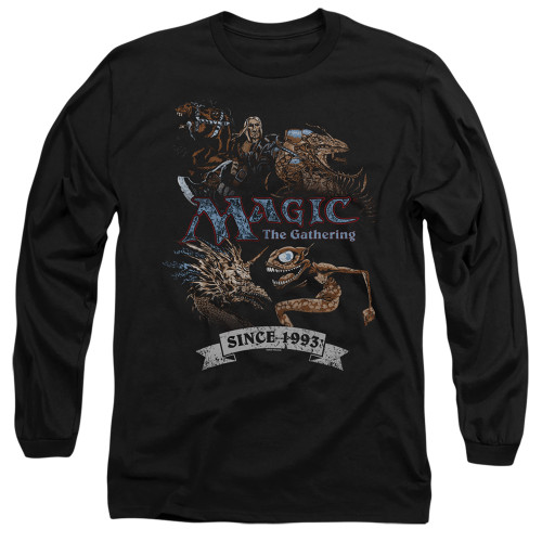 Image for Magic the Gathering Long Sleeve T-Shirt - Four Pack Retro