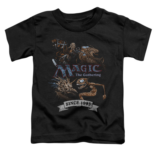 Image for Magic the Gathering Toddler T-Shirt - Four Pack Retro