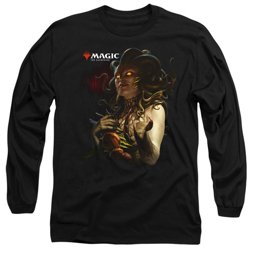 Image for Magic the Gathering Long Sleeve T-Shirt - Raska Queen of Golgari