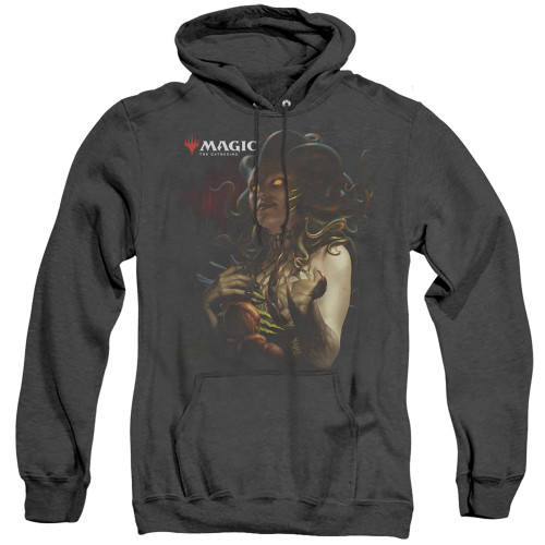 Image for Magic the Gathering Heather Hoodie - Raska Queen of Golgari