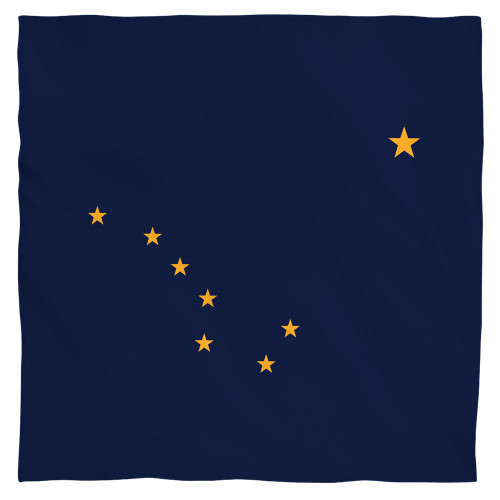 Image for Alaska Flag Face Bandana -