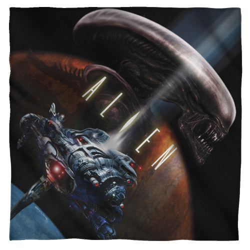 Image for Alien Face Bandana -Prey