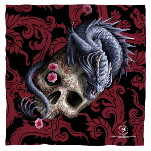 Image for Anne Stokes Face Bandana -Oriental Dragon