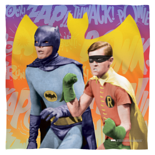 Image for Batman Classic Tv Face Bandana -Biff Bang Pow