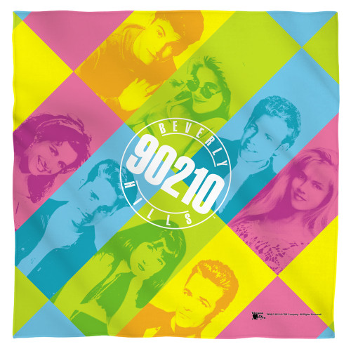Image for Beverly Hills 90210 Face Bandana -Color Blocks
