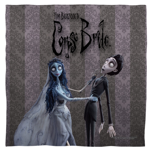 Image for Corpse Bride Face Bandana -Bride And Groom